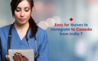Canada PR visa for Nurses from India