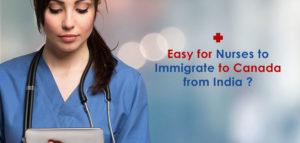 Canada PR visa for Nurses from India