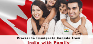 Process to Immigrate Canada from India with Family