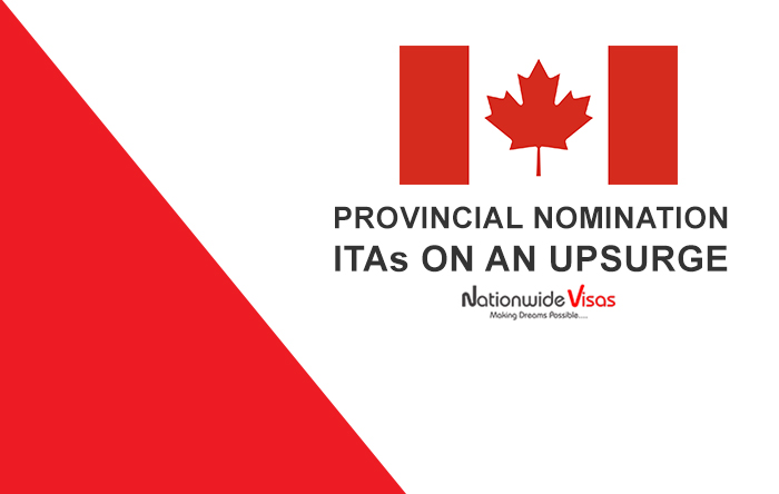 Provincial Nomination ITAs on an upsurge