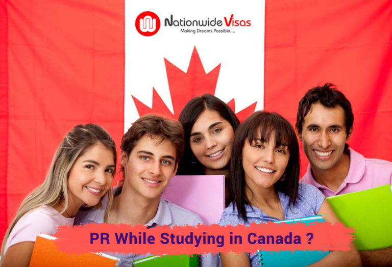 PR while studying in Canada