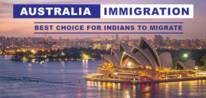 Australia best choice for immigration for Indians